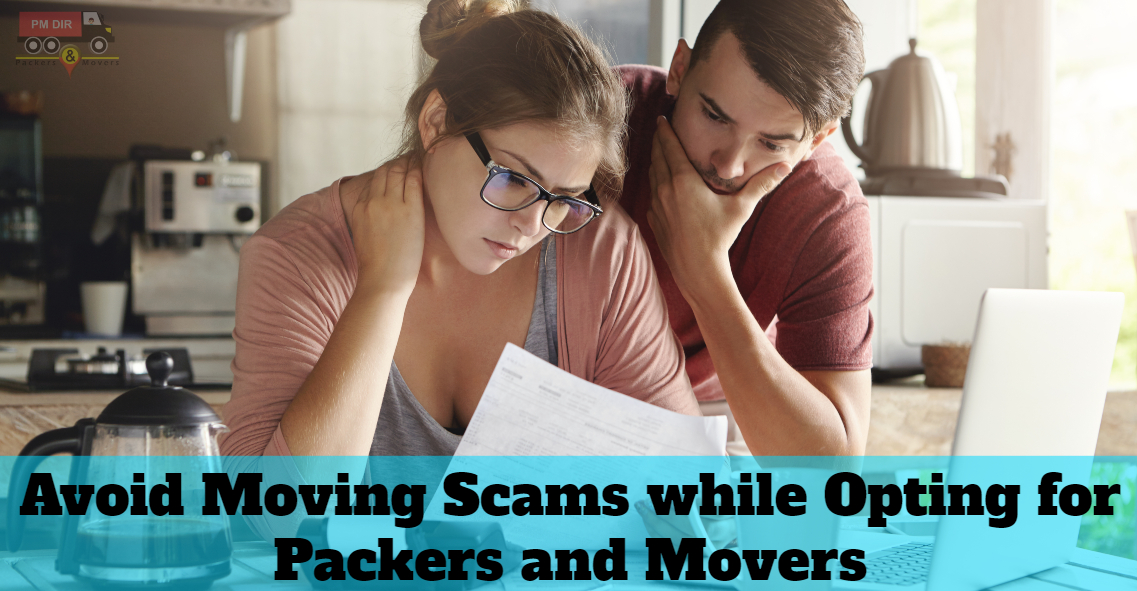 Avoid Moving Scams while Shifting to A New Place