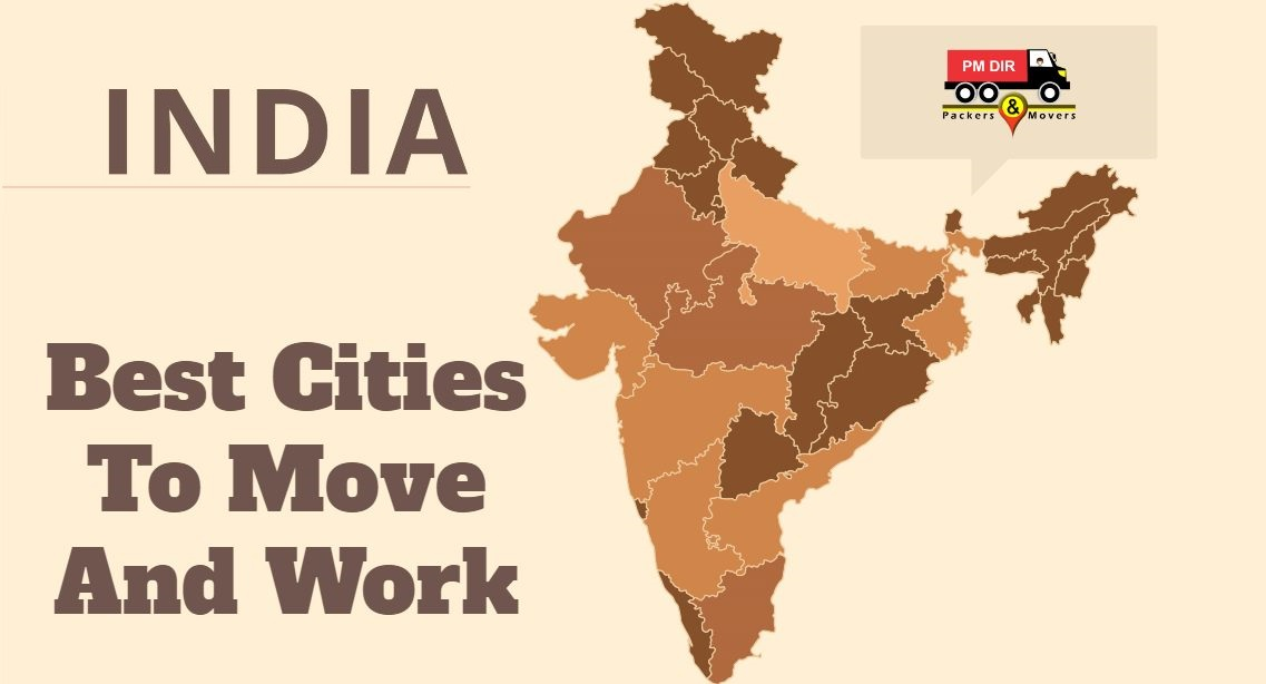 Best Cities To Move & Work In India