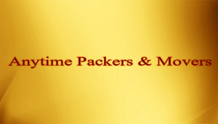 Anytime Packers And Movers Rajkot